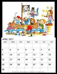 Printable Halloween Calendar April 2017 Calendar My Calendar Land