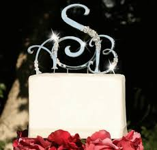 wedding cake toppers letters expressions monogram wedding cake toppers monogram wedding cake