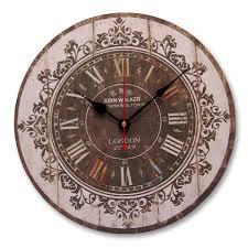 Grande Horloge Murale Pas Cher by Horloge 34cm Style Ancienne Grande Pendule Murale Ronde Balancier