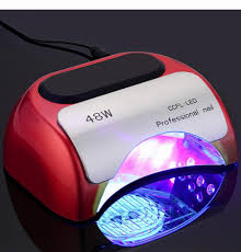 professional 48 w ccfl uv led lamp nail dryer for nail gel polish