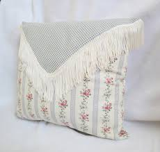 shabby chic decorative throw pillows handmade custom pillows