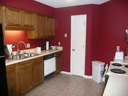 Red Kitchen Walls With White Cabinets Kitchen Updates Mrs Bomb Com