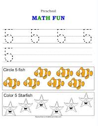 free worksheets activities for numbers 1 10 free math