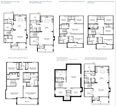 residential floor plans tremolo 2610 sq ft 3 bedroom 2 5 bathroom protech home design