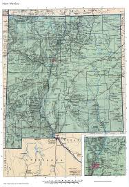 Map New Mexico by New Mexico Mapfree Maps Of Us
