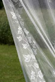 ivy trellis nottingham lace curtain and yardage direct from london
