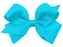 wee ones hair bows wee ones small grosgrain bow new turquoise at shopthatstore