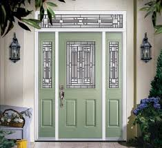 Exterior Steel Entry Doors With Glass Fiberglass Steel Doors Traditional Exterior Ta By Us