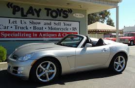 2007 saturn sky 2 door roadster convertible