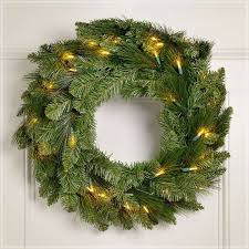 battery operated pre lit wreaths with timer express