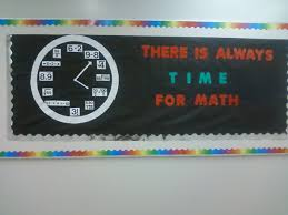 Math Decorations For Classroom Middle Math Bulletin Board Ideas Time For Math Bulletin