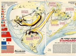 Bates College Map Standard Oil 1940 Map Business Insider