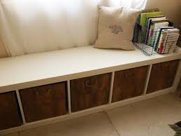modern bench with storage ikea useful images on mesmerizing