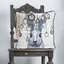 Rabbit Home Decor Alice In Wonderland Home Decorcheshire Cat Alice In Wonderland Cushion