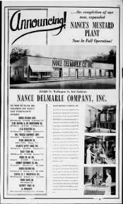 nance s mustard and chronicle from rochester new york on september 13 1959