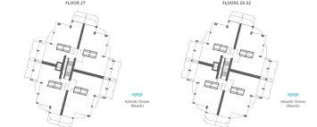 continuum north tower floor plans continuum south beach