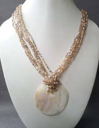 Handmade Seed Beaded Gold Plated I Really Love This It U0027s Like Pearls Always Classy Seed