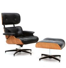 Eames Style Chair by Eames Style Chair With Footstool Ebth