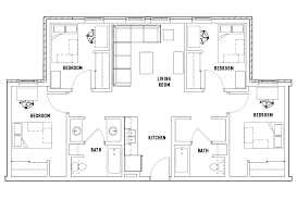 bath floor plans floor plans honors academic student housing toledo oh