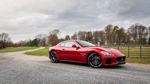 maserati modified the 2018 granturismo sticks to what it did best