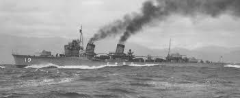 Japanese destroyer Shikinami
