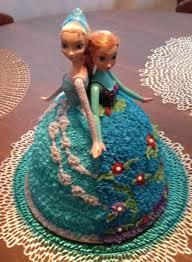 ana u0026 elsa doll cake frozen birthday party barb u0027s favs