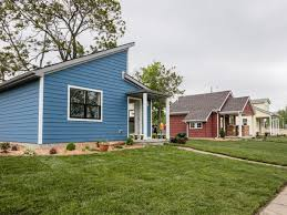 tiny houses on foundations 10 tiny house villages for the homeless across the u s
