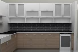 Kitchen Cabinet Doors Glass Kitchen Impressive Wonderful Replacement Cabinet Doors With Glass