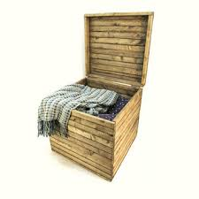 Wooden Crate Nightstand 17x17x17 Rustic Wooden Storage Cube From Independent Boxworks
