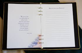 funeral guest books 8 best images of guest registry book for memorials funeral guest