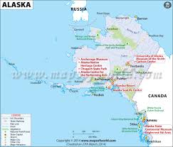 Map Of National Parks In Usa Alaska Map Map Of Alaska Ak