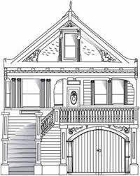 Drawing Of A House With Garage Putting Down Roots In Earthquake Country U2014your Handbook For The San