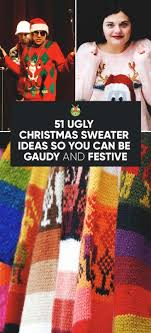 51 sweater ideas so you can be gaudy and festive