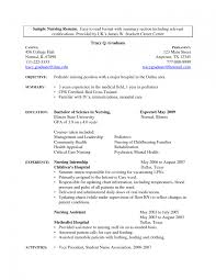 graduate resume exle 31 new graduate nursing resume exles cv exle an of a students