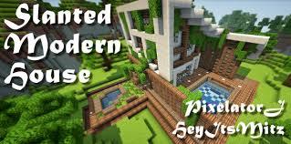 House Schematics by Modern And Futurist Minecraft Schematics List
