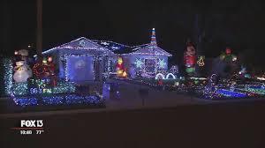 christmas light display synchronized to music ta home has 55 000 christmas lights synced to music youtube