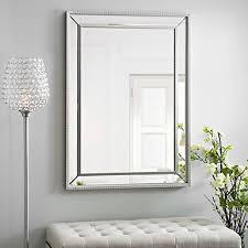 Frameless Bathroom Mirror Infinity Frameless Wall Mirror Kirklands