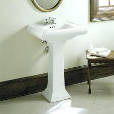 Large Pedestal Sinks Bathroom Sinks Toto Lpt 960 Soiree Pedestal Sink Bathroom 2513 By Toto