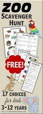 17 free zoo scavenger hunts toddler 6th grade
