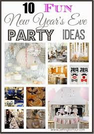 Easy Table Decorations For New Years by 158 Best New Year Decor U0026 Diy Images On Pinterest New Years Eve