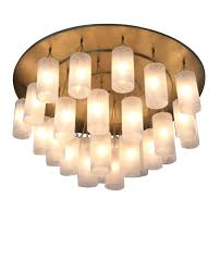 Battery Operated Gazebo Chandelier by Edison Light Chandelier Ribbed Dome Mercury Glass Shade Pendant