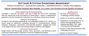 resume format for quality engineer software engineer resume sample solution design systems engineer