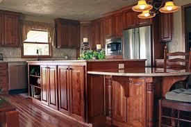 Birch Kitchen Island by Affordable Custom Cabinets Showroom