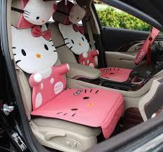 shop pink kitty car seats cover cartoon gift
