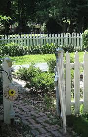 56 best fences images on pinterest white picket fences garden
