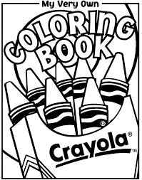 crayons coloring coloring crayons classes