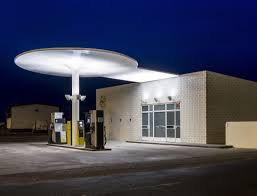 arne jacobsen gas station goop