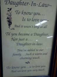 Wedding Day Sayings Gift Ideas For My Daughter In Law On Her Wedding Day Imbusy For