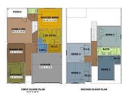 5 bedroom floor plans 2 story floor plans connor place gated townhouse community in columbia
