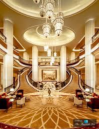 st regis luxury hotel abu dhabi uae grand lobby staircase